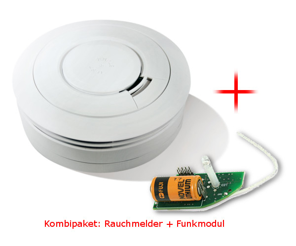 rauchmelder ei 650w funkmodul ei 650m rauchwarnmelder set funkvernetzbar ebay. Black Bedroom Furniture Sets. Home Design Ideas