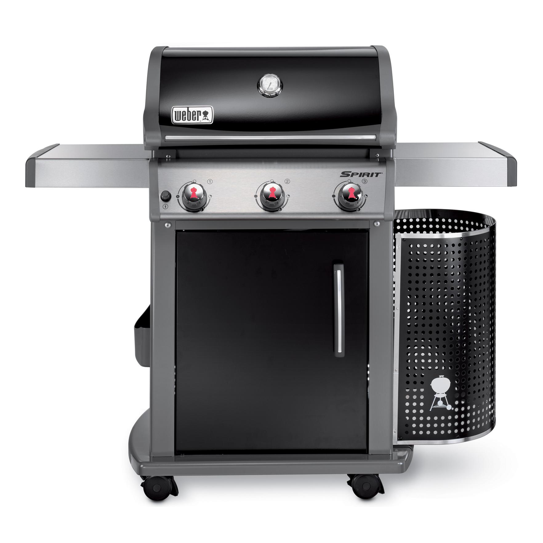 weber gasgrill spirit e 310 premium black mit elektronischer z ndung 46510379 ebay. Black Bedroom Furniture Sets. Home Design Ideas