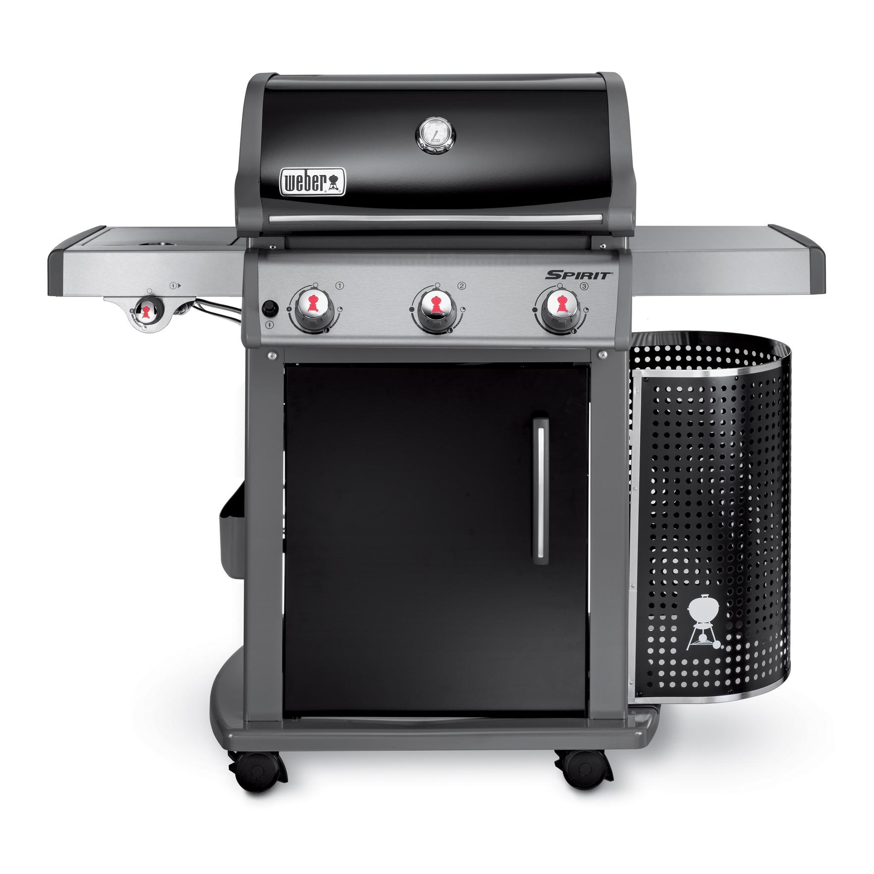 weber gasgrill spirit e 320 premium black mit. Black Bedroom Furniture Sets. Home Design Ideas