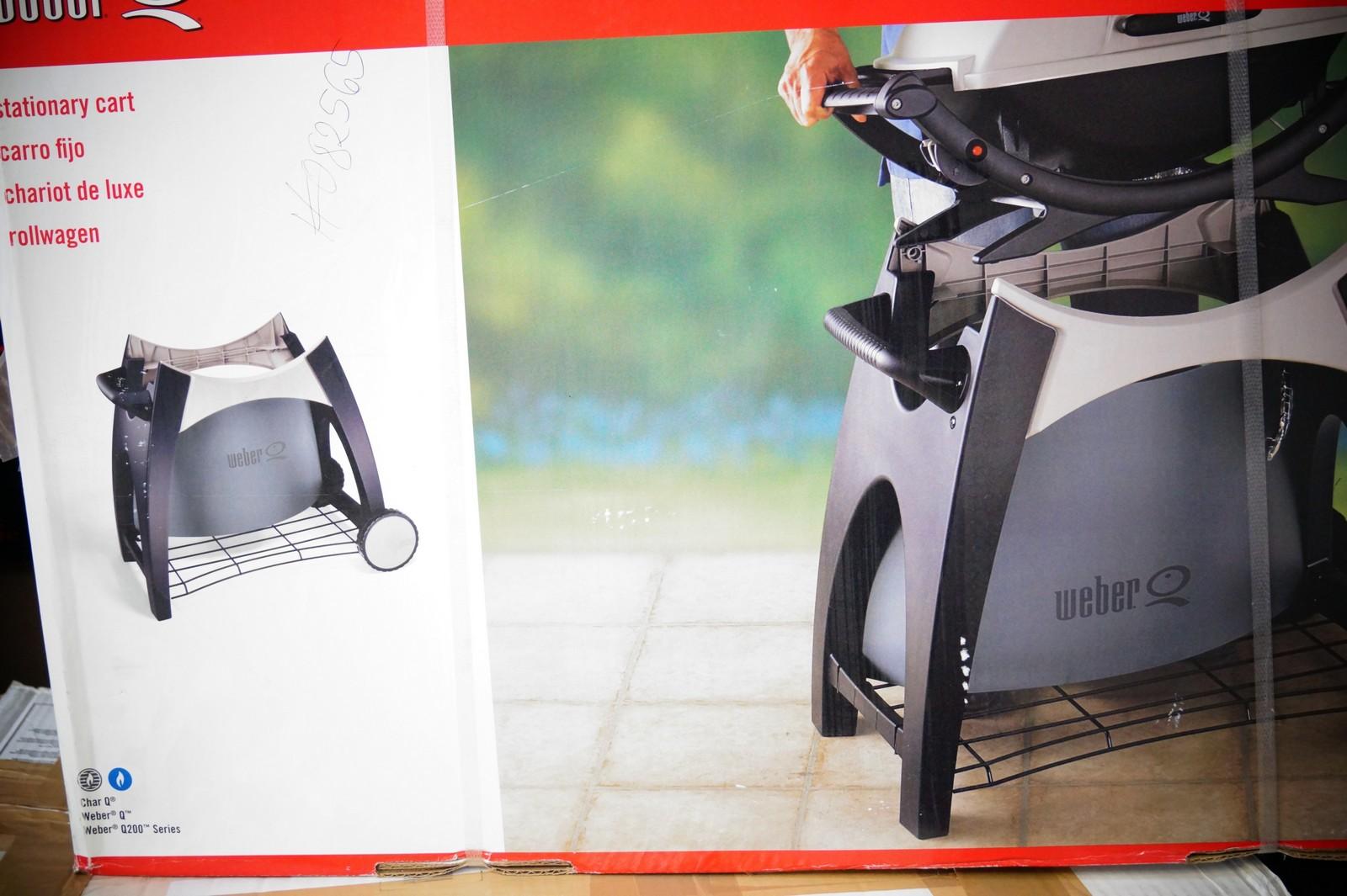 weber rollwagen premium f r q 200 und 220 8460 abverkauf ebay. Black Bedroom Furniture Sets. Home Design Ideas